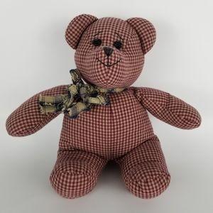 "BOYDS | ""Bears In The Attic"" gingham plaid plush"
